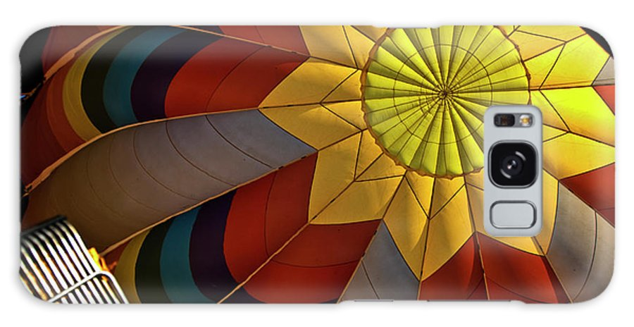 Hot Air Balloon Galaxy S8 Case featuring the photograph Inside The Heart Of A Hot Air Balloon by Frank Feliciano