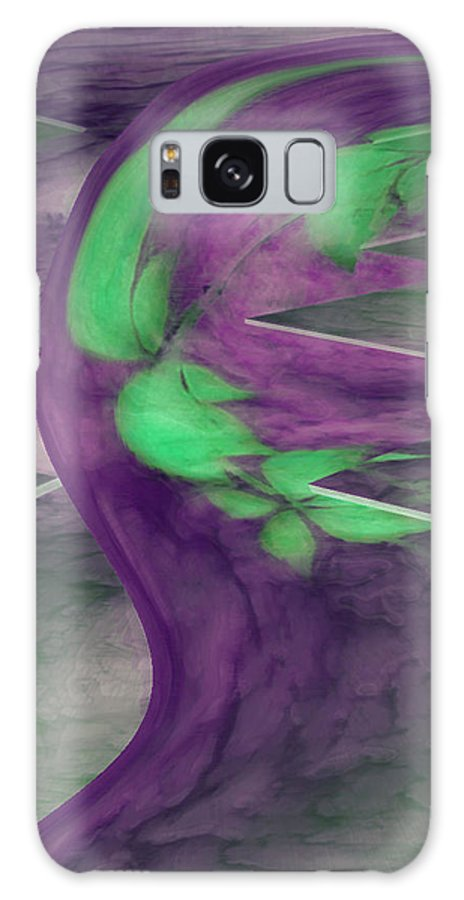 Abstracts Galaxy S8 Case featuring the digital art Insight by Linda Sannuti