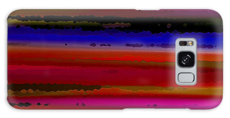 Abstract Galaxy Case featuring the digital art Intensely Hued II by Ruth Palmer