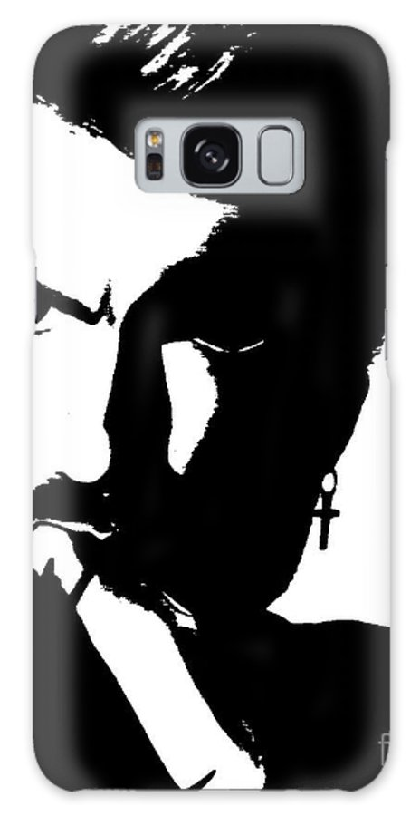 Black And White Galaxy S8 Case featuring the painting Intensity by Vicki Lynn Sodora
