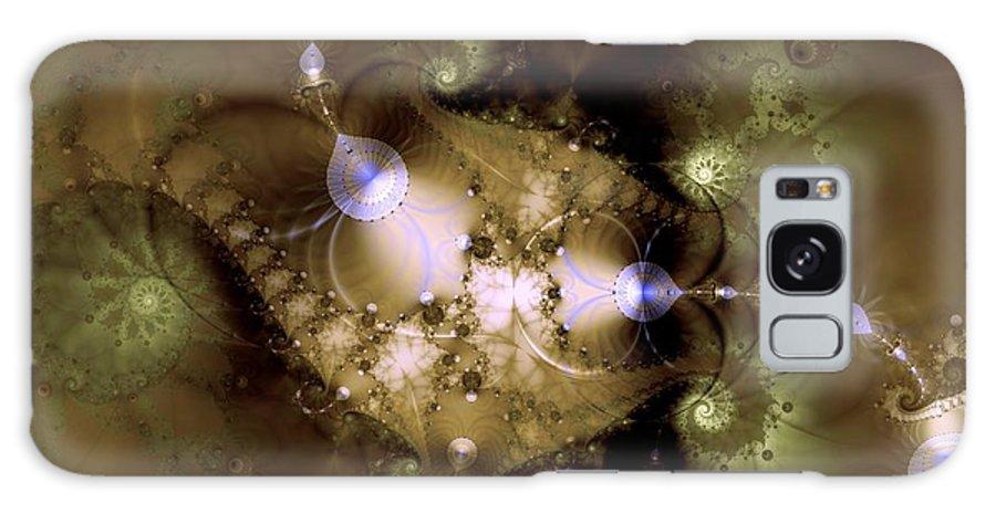 Dimension Galaxy S8 Case featuring the digital art Intergalactica by Casey Kotas