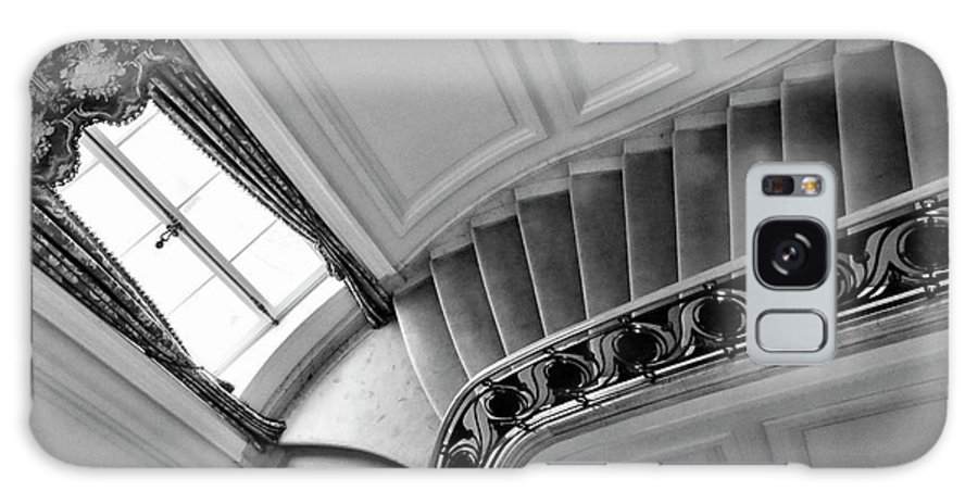 Architecture Galaxy S8 Case featuring the photograph Interior Stairs Architecture by Chuck Kuhn