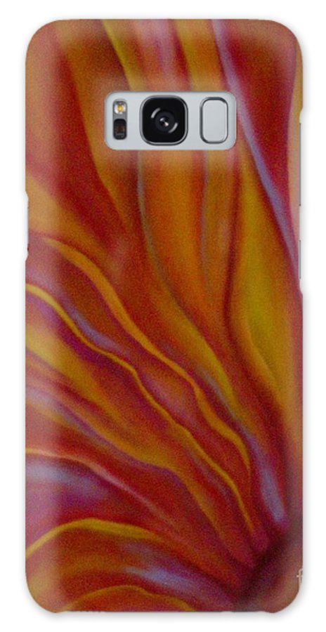 Floral Galaxy Case featuring the painting Internal Floral by Sidra Myers