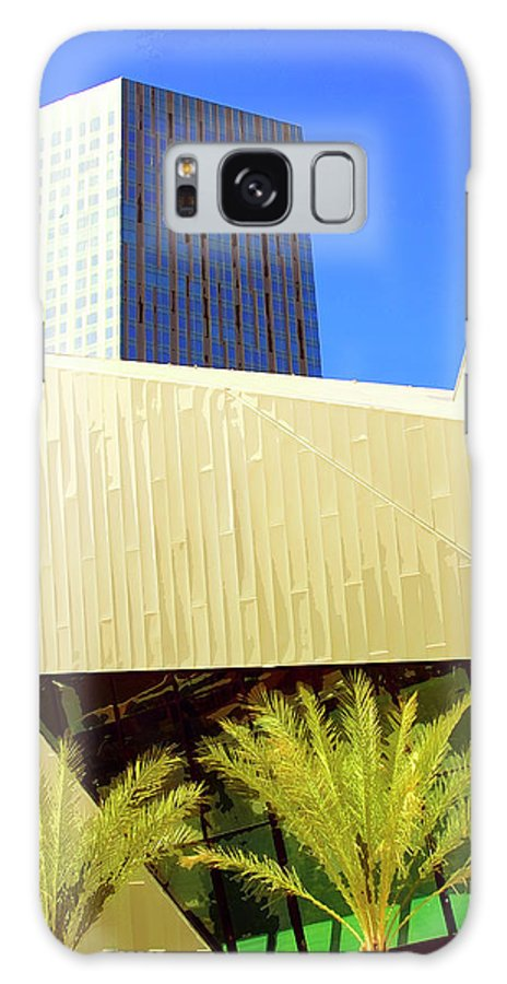 Vegas Galaxy S8 Case featuring the photograph Intersection 2 by William Dey