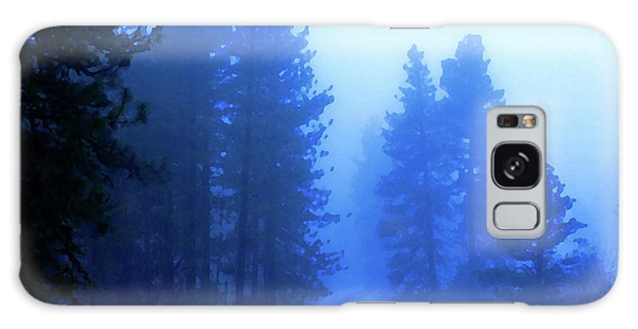 Photo Art Galaxy S8 Case featuring the photograph Into The Misty Unknown by Ben Upham III