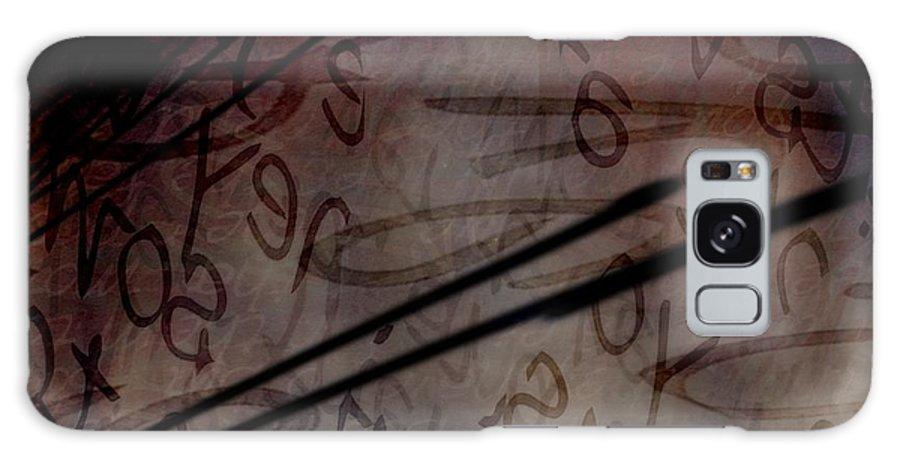 Implication Galaxy S8 Case featuring the digital art Intrusion by Vicki Ferrari
