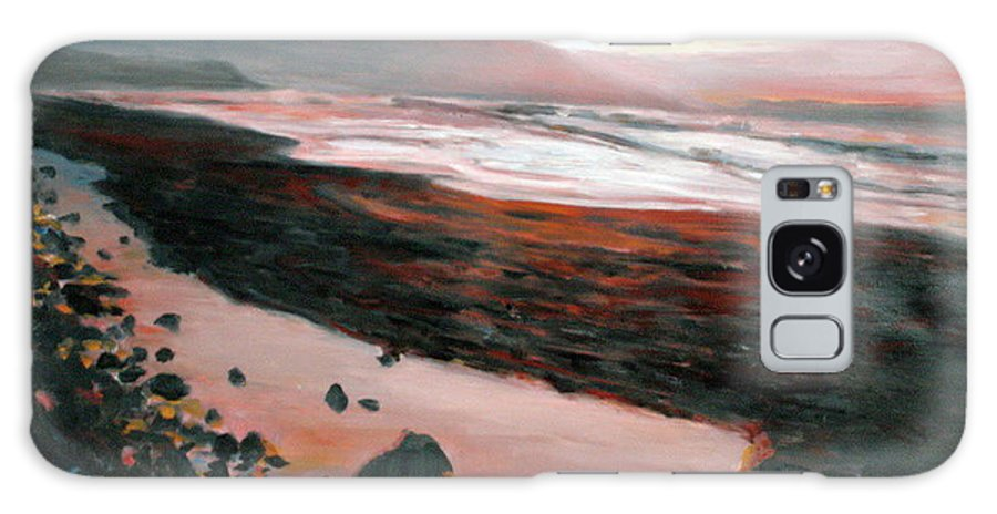 Landscape Galaxy Case featuring the painting Ireland by Pablo de Choros
