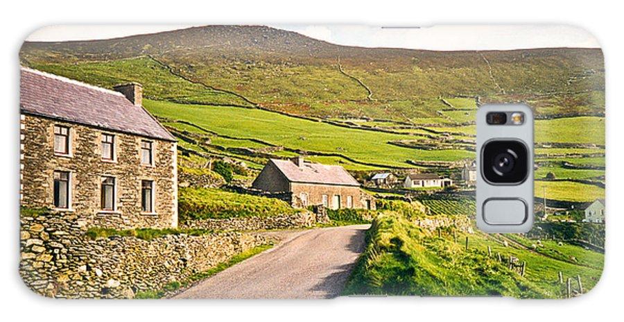 Ireland Galaxy Case featuring the photograph Ireland Farmland by Douglas Barnett