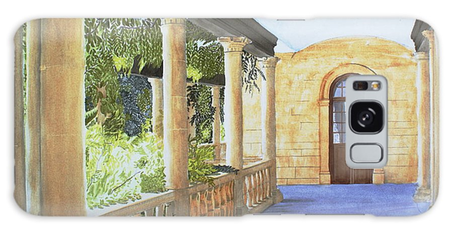 Garden Galaxy S8 Case featuring the painting Irish Romance by Frank Hamilton