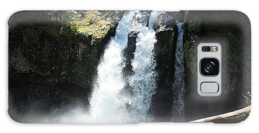 Waterfalls Galaxy S8 Case featuring the photograph Ironhead Falls by Jeff Swan