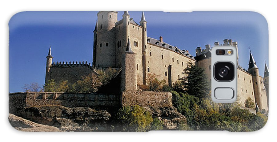 Royal Galaxy Case featuring the photograph Isabella's Castle In Segovia by Carl Purcell