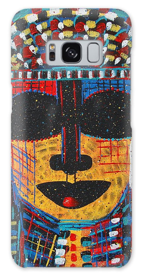 Abstract Galaxy Case featuring the painting Isatoria by Natalie Holland