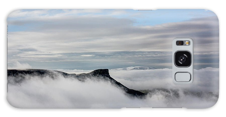 Castle Rock Galaxy S8 Case featuring the photograph Island In The Clouds by Andrew Terrill