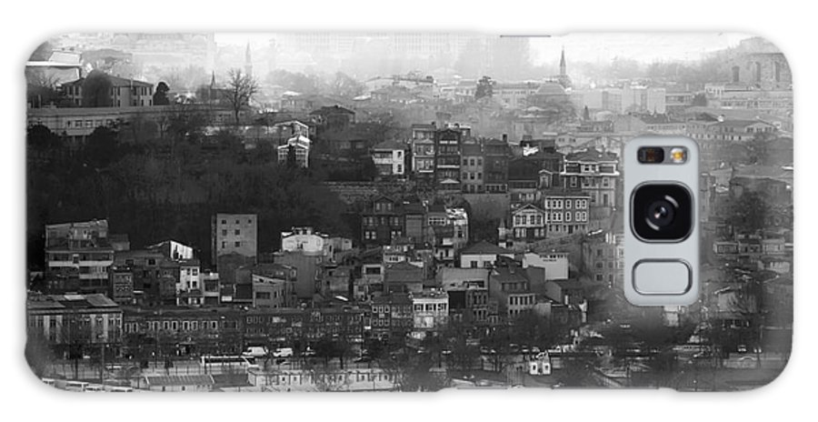Istanbul Cityscape Galaxy S8 Case featuring the photograph Istanbul Cityscape X by John Rizzuto