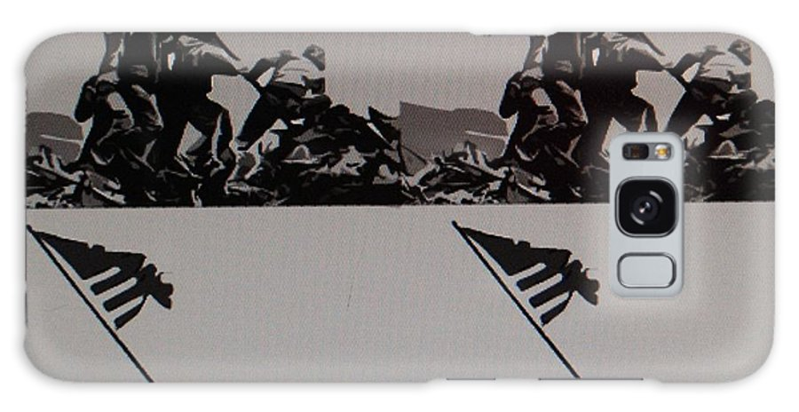 Pop Art Galaxy S8 Case featuring the photograph Iwo Jima by Rob Hans