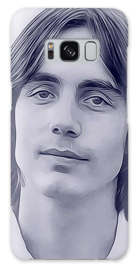 Jackson Galaxy S8 Case featuring the digital art Jackson Browne, Music Legend by John Springfield