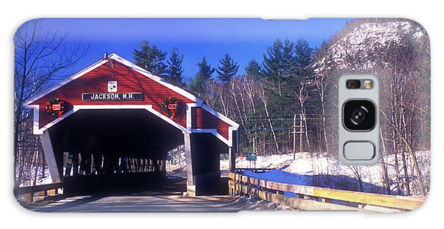 Covered Bridge Galaxy S8 Case featuring the photograph Jackson Nh Covered Bridge by John Burk