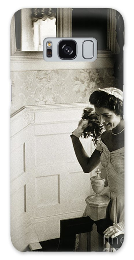 1953 Galaxy S8 Case featuring the photograph Jacqueline Kennedy by Granger