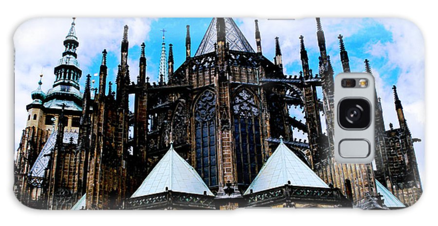 Cathedral Galaxy Case featuring the photograph Jagged by Jeff Barrett