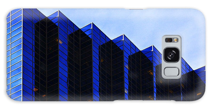 Architecture Galaxy S8 Case featuring the photograph Jagged Sky Scraper by Marilyn Hunt