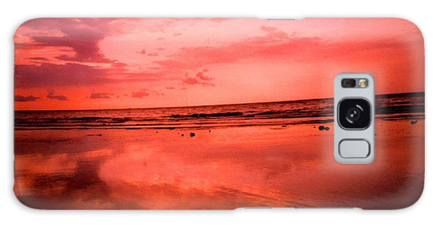 Sunset Galaxy Case featuring the photograph Jamaica Sunset by Ian MacDonald