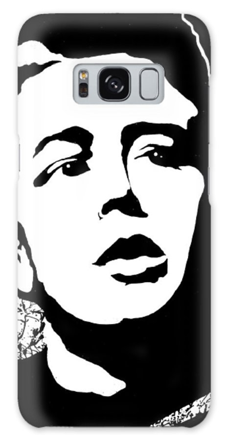 James Dean Galaxy Case featuring the painting James Dean by Curtiss Shaffer