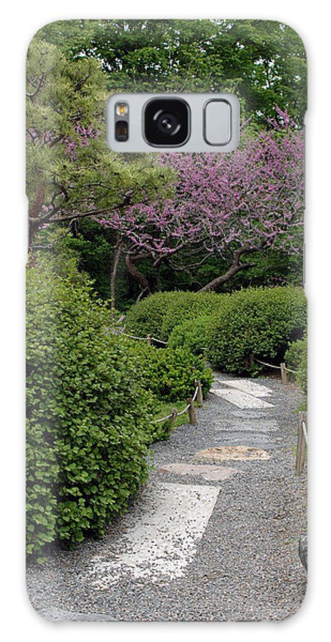 Japanese Garden Galaxy S8 Case featuring the photograph Japanese Garden I by Kathy Schumann