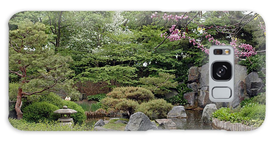 Japanese Garden Galaxy Case featuring the photograph Japanese Garden II by Kathy Schumann