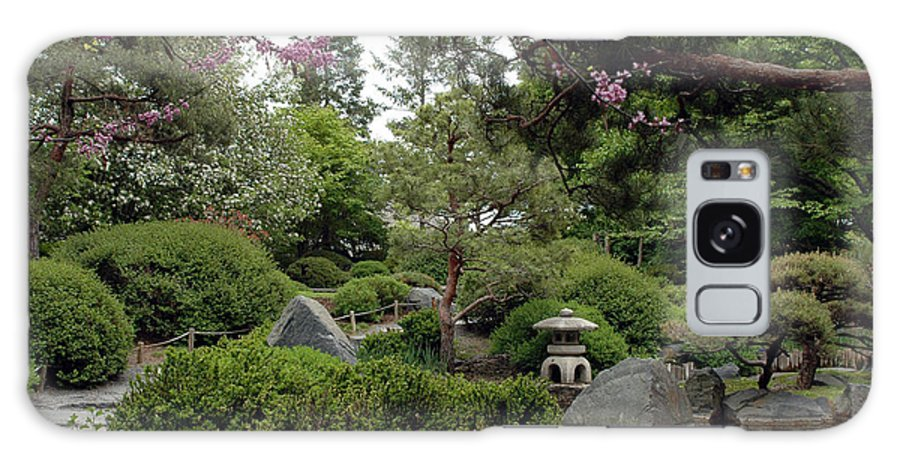 Japanese Garden Galaxy S8 Case featuring the photograph Japanese Garden IIi by Kathy Schumann