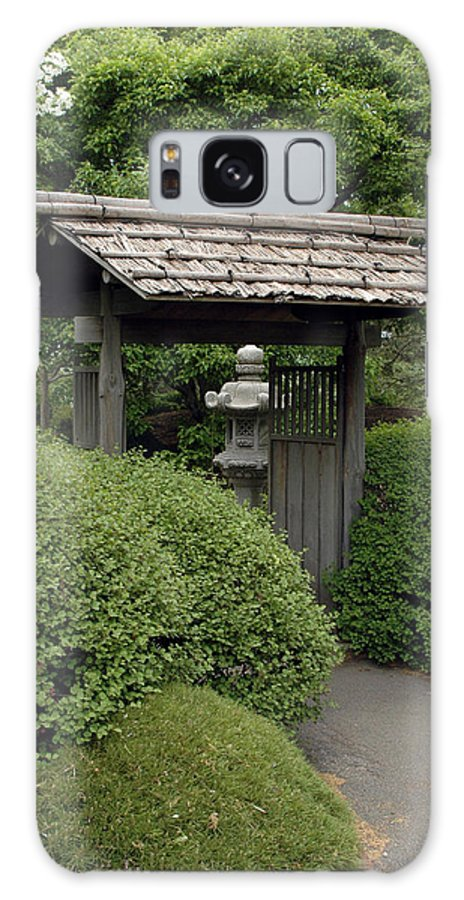 Japanese Garden Galaxy Case featuring the photograph Japanese Garden by Kathy Schumann