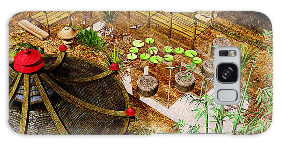 Garden Galaxy Case featuring the photograph Japanese Garden by Peter J Sucy