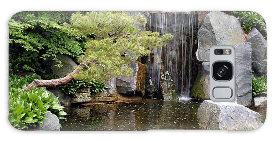 Japanese Garden Galaxy Case featuring the photograph Japanese Garden V by Kathy Schumann