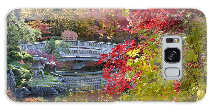 Gardens Galaxy S8 Case featuring the photograph Japanese Gardens by Idaho Scenic Images Linda Lantzy