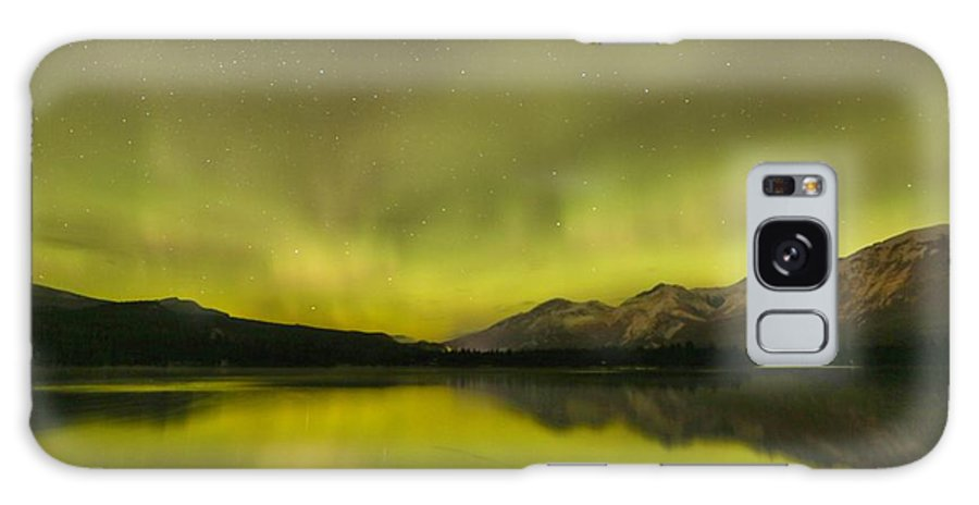 Canadian Northern Lights Galaxy S8 Case featuring the photograph Jasper Zen by Adam Jewell