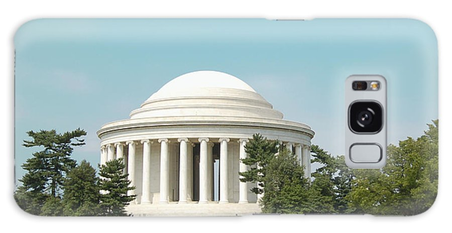 Jefferson Galaxy S8 Case featuring the photograph Jefferson Memorial by Faith Harron Boudreau