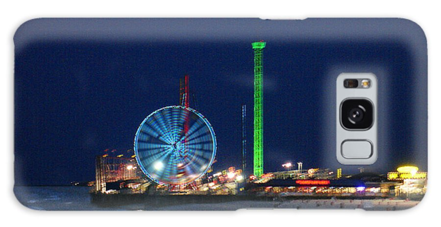 Landscape Galaxy Case featuring the digital art Jersey Shore by Steve Karol