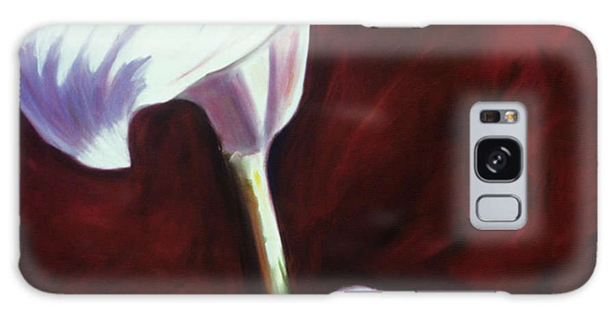 Calla Lily Galaxy S8 Case featuring the painting Jessica by Shannon Grissom