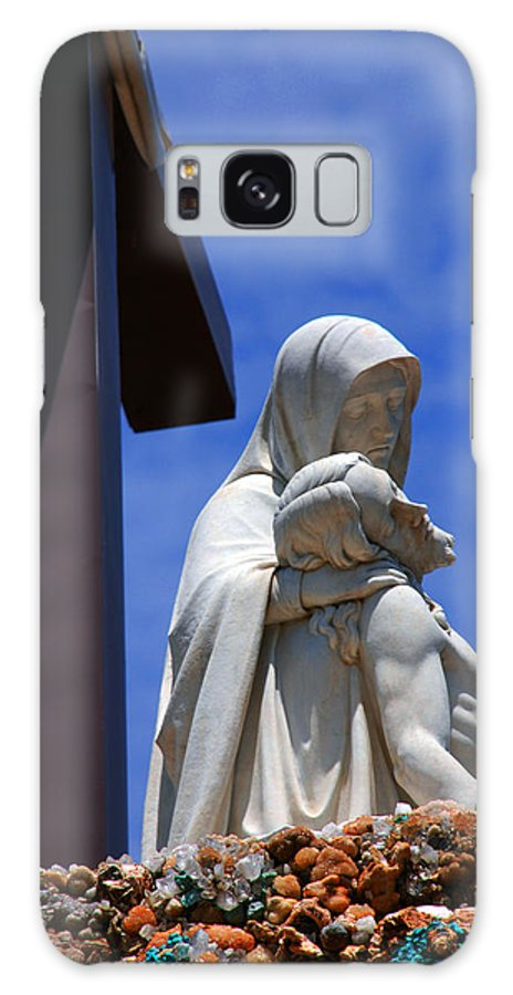 Jesus And Maria Galaxy S8 Case featuring the photograph Jesus And Maria by Susanne Van Hulst