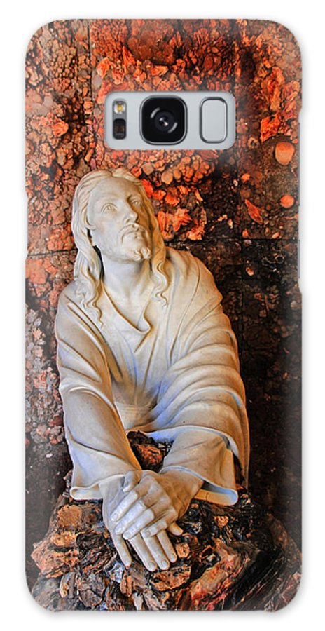 Jesus Christ Galaxy S8 Case featuring the photograph Jesus Christ by Susanne Van Hulst
