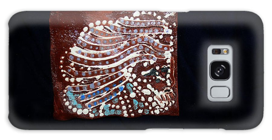 Godly Galaxy S8 Case featuring the ceramic art Jesus Gethsemane Retold by Gloria Ssali