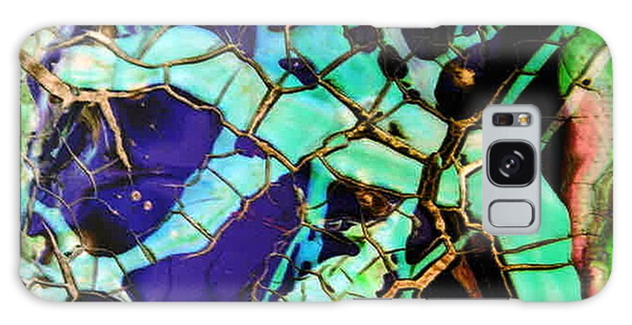 Jewels Galaxy S8 Case featuring the painting Jewels by Dawn Hough Sebaugh
