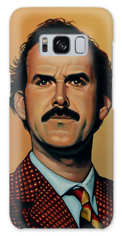John Cleese Galaxy S8 Case featuring the painting John Cleese by Paul Meijering