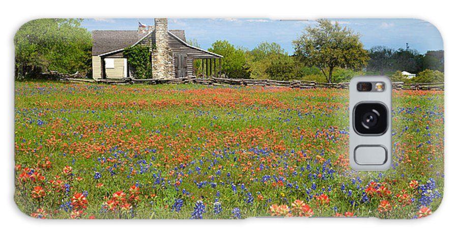 John Cole Galaxy S8 Case featuring the photograph John P Cole's Cabin In Old Baylor Park by Lynn Bauer