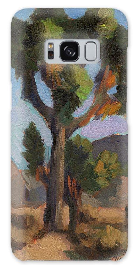 Joshua Tree Galaxy S8 Case featuring the painting Joshua Tree 2 by Diane McClary