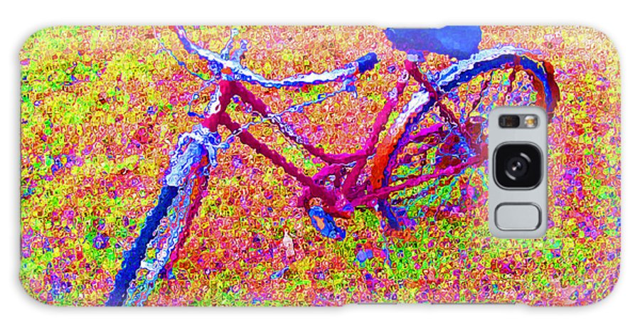 Bike Galaxy S8 Case featuring the photograph Joy, The Bike Ride by Albert Stewart