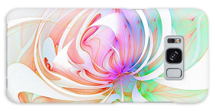 Digital Art Galaxy Case featuring the digital art Joy by Amanda Moore