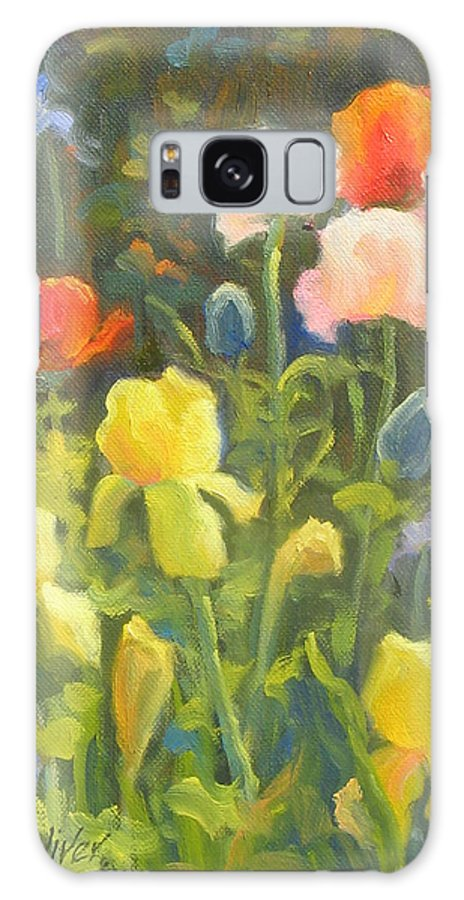 Floral Galaxy S8 Case featuring the painting Joy Of Spring by Bunny Oliver
