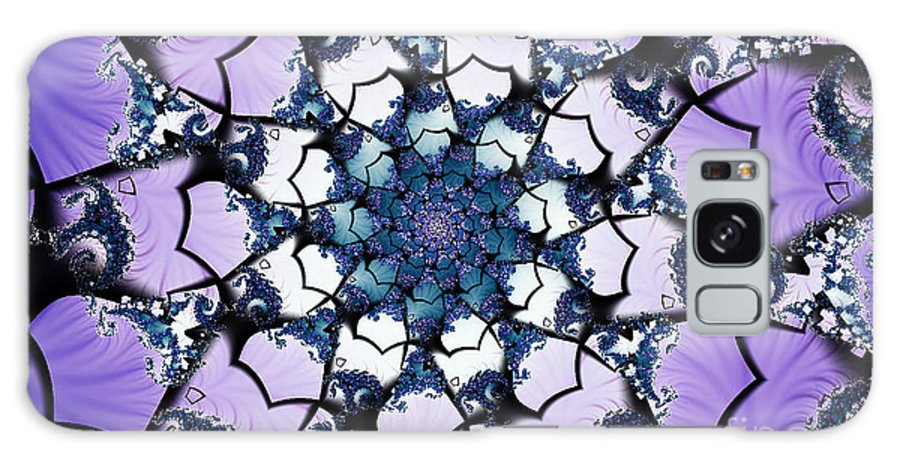 Clay Galaxy Case featuring the digital art Julia by Clayton Bruster