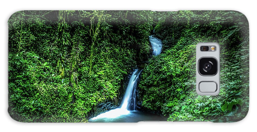 Jungle Galaxy Case featuring the photograph Jungle Waterfall by Nicklas Gustafsson