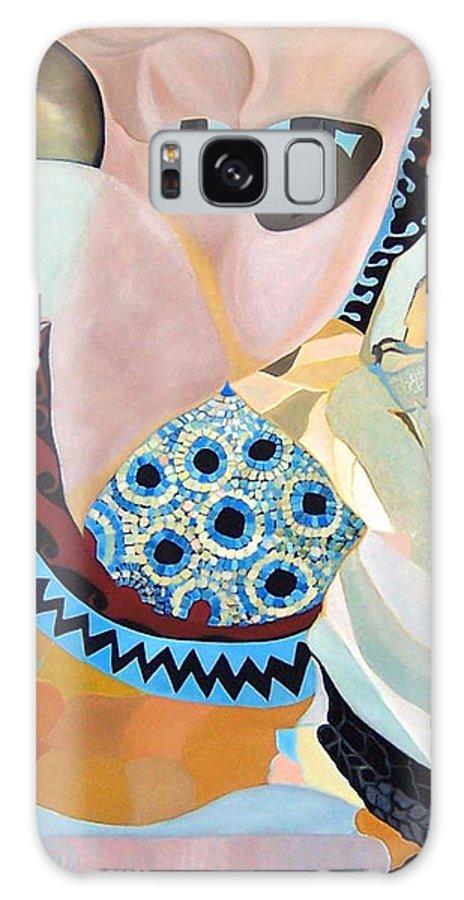 Figyrative Galaxy Case featuring the painting Jurney by Antoaneta Melnikova- Hillman